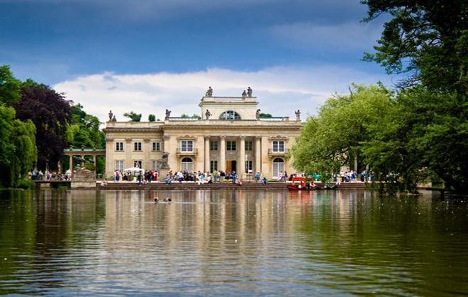 סיור מודרך מסלול ארמונות בורשה